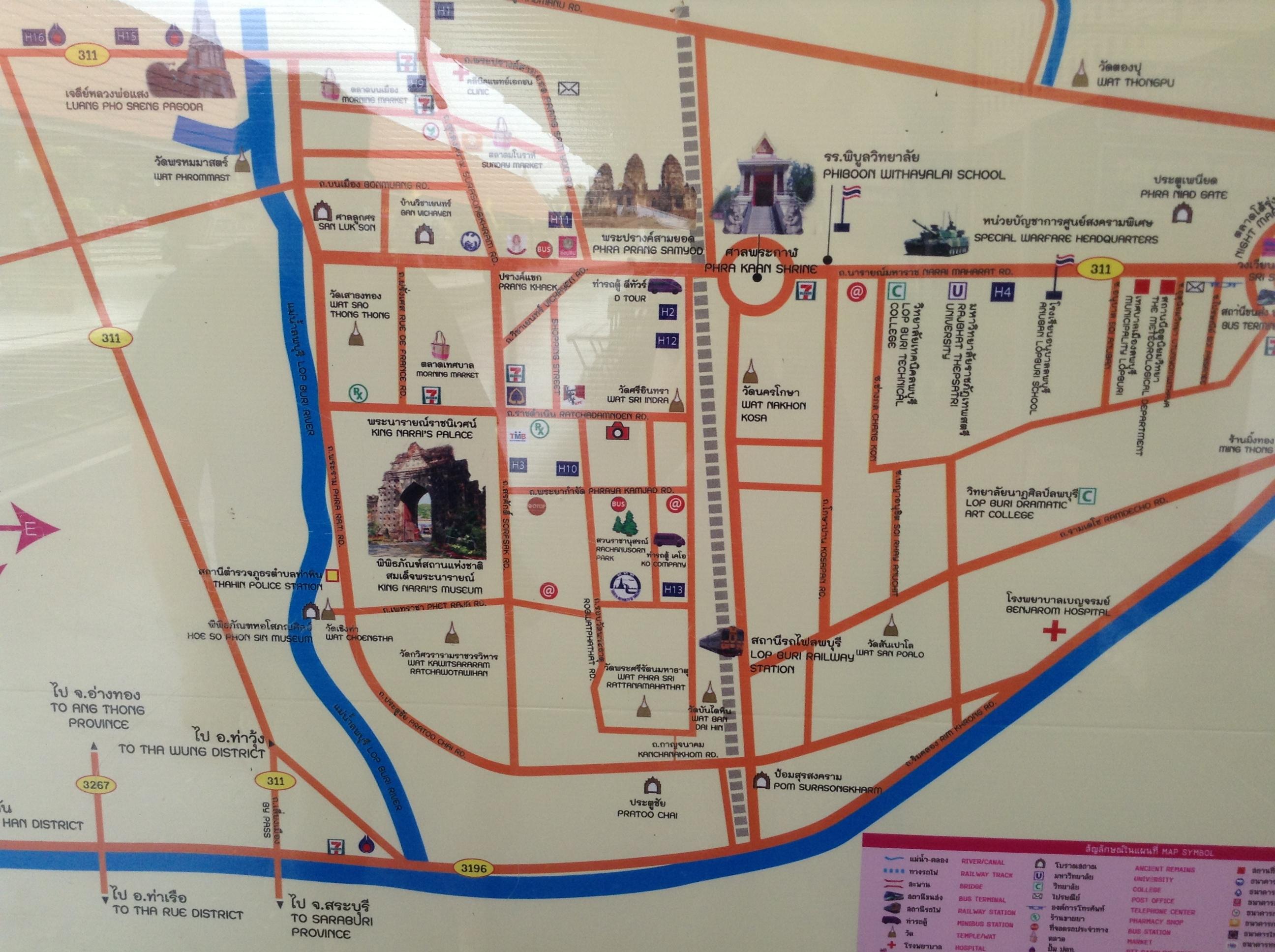 Lopburi Thailand Map.Thailand Watching Monkeys In Lopburi Greenjoy Travel