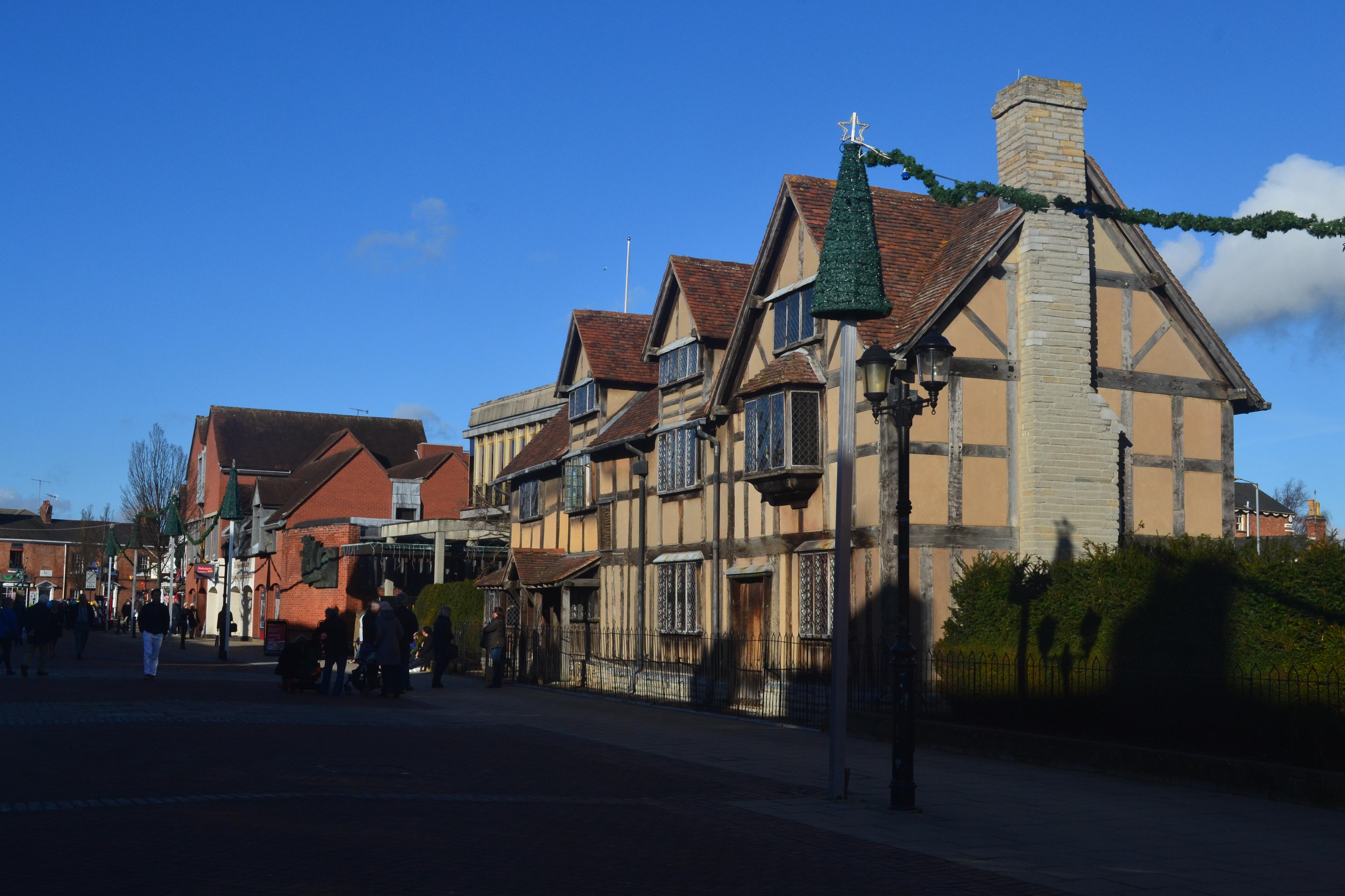 Shakespeares Birthplace Henley Street Stratford Upon Avon