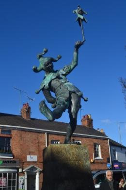 Jester statue, Henley Street