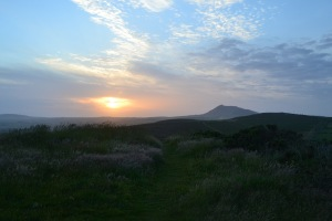The view from Foel Gron, Mynytho (Lleyn Peninsula)